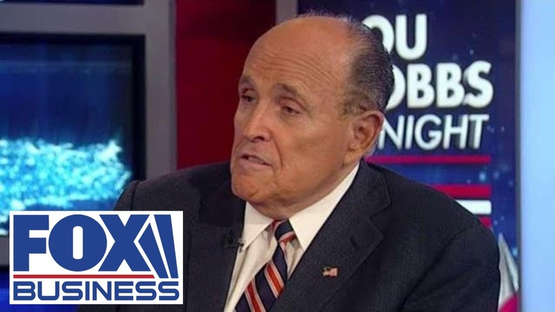 Giuliani slams 'swamp media', says it's time to fight back against Dems