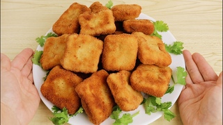 easy chicken nuggets recipe! Crispy and delicious better than McDonald's, you'll never buy it again!