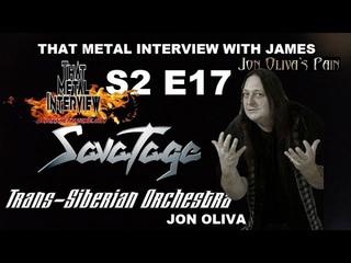 Jon Oliva of SAVATAGE, TRANS-SIBERIAN ORCHESTRA & JON OLIVA'S PAIN S2 E17