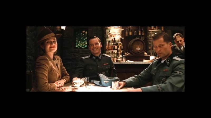 INGLOURIOUS BASTERDS german accent pub scene german polish subtitles