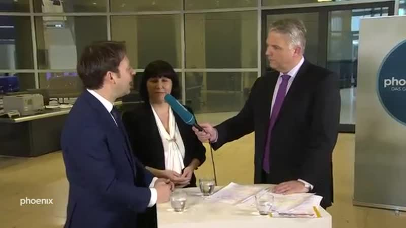 Bundestagsinterview mit Joana Cotar AfD und Jens Zimmermann SPD über Digitalisierung am 21 02 19