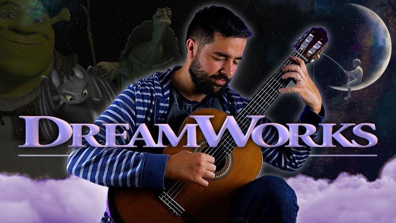 3 Beautiful DreamWorks Themes On Guitar