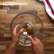 id_50743 Куриные грудки в сливочном соусе с медово-горчичным маринадом 🍴  Автор: Twisted  #gif@bon