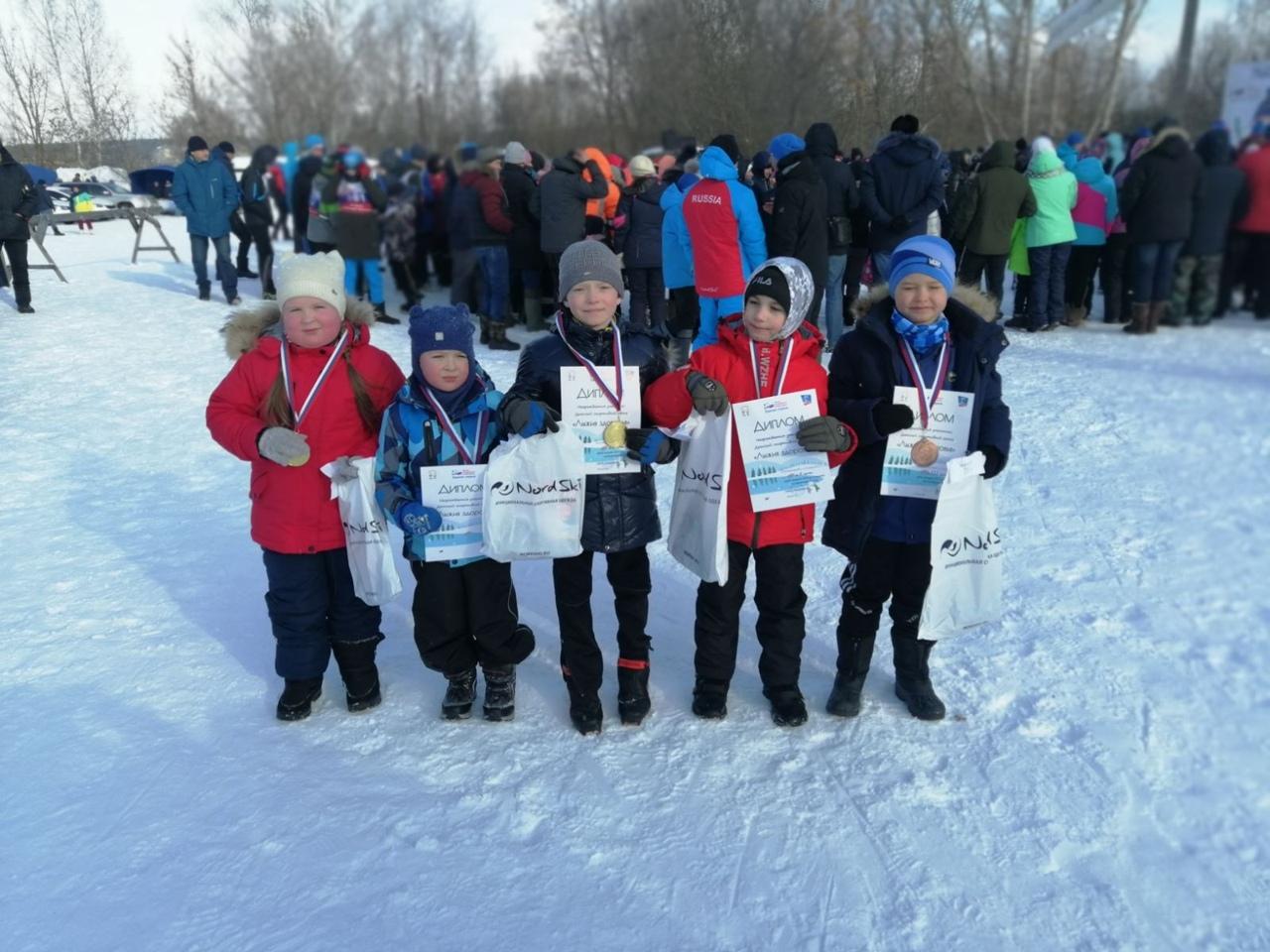 Петровские лыжники стали победителями соревнований в Пензенской области
