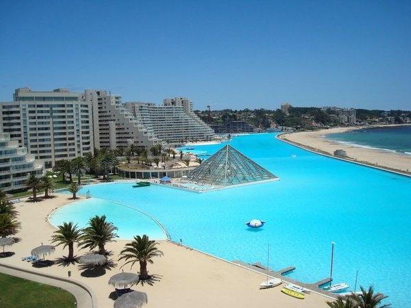 Самый большой в мире бассейн на чилийском курорте Сан-Альфонсо-дель-Мар, изображение №5