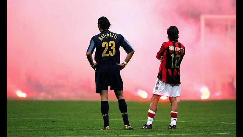 Милан Интер Великие футбольные противостояния