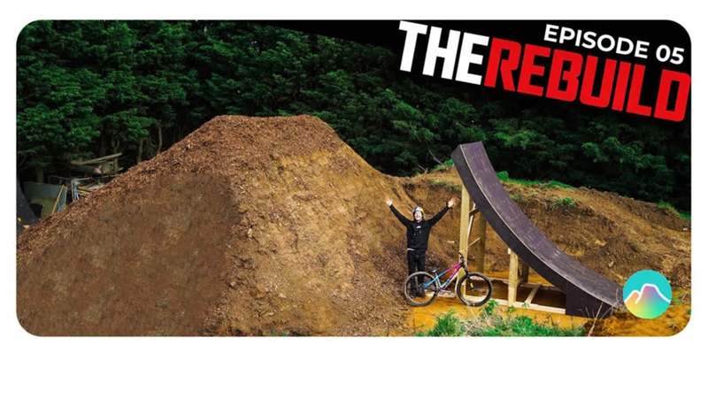 RIDING THE BIGGEST RAMP IVE EVER BUILT!! REBUILD EP 5