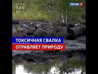 Ликвидируют токсичную свалку нефтепродуктов — Россия 1