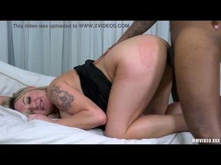 [] - Rafaella Denardin - Hot Giant Boobs Blonde PAWG screwed by ugly homeless