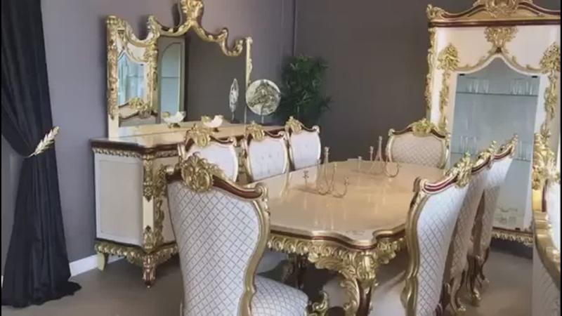 Dinning Hol Crown disponibil pe stoc... - Mobila Satu Mare.mp4