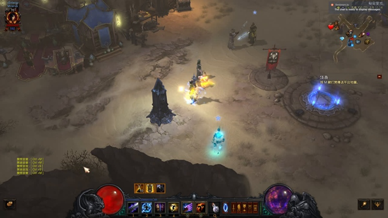 暗黑破壞神3:秘術師的召魔者《堤豐罩衣》荊棘傷害 直播 - Demon Hunter Club