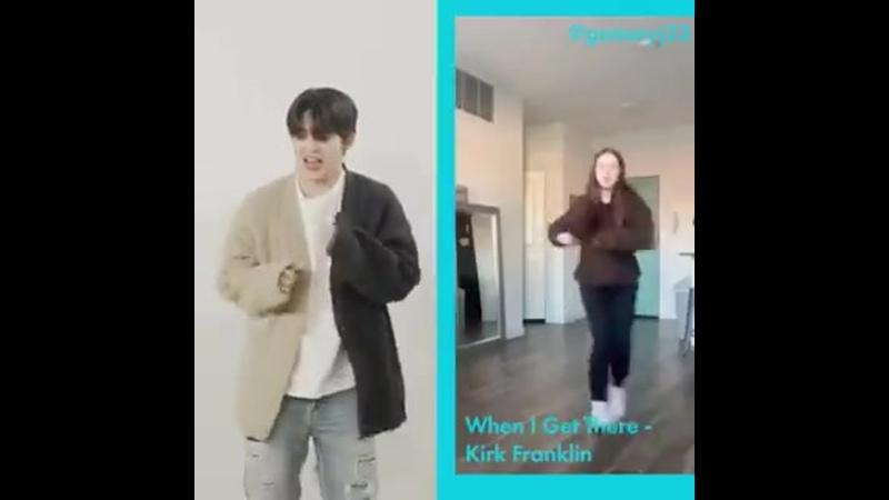 Сынчоль Tiktok dance challenge // Cosmopolitan