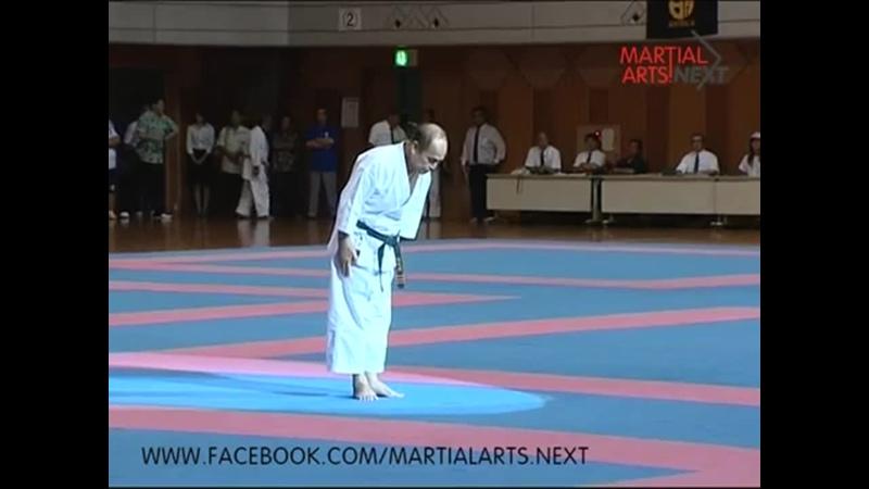 Isamu Arakaki. Shorin-ryu. Kata Sochin.