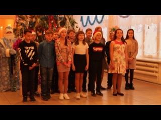 Новогоднее выступление от 5а класса