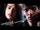 Merlin Morgana Umbrella MODERN AU