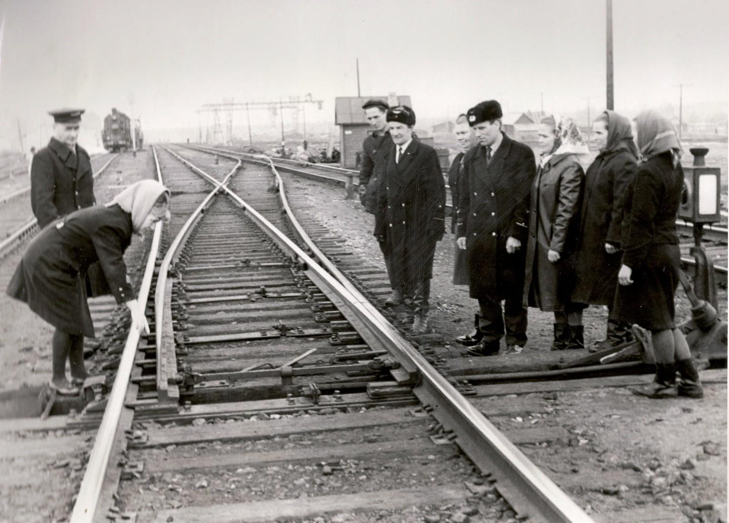 1969 год, станция Вандыш Коношского района. Начальник