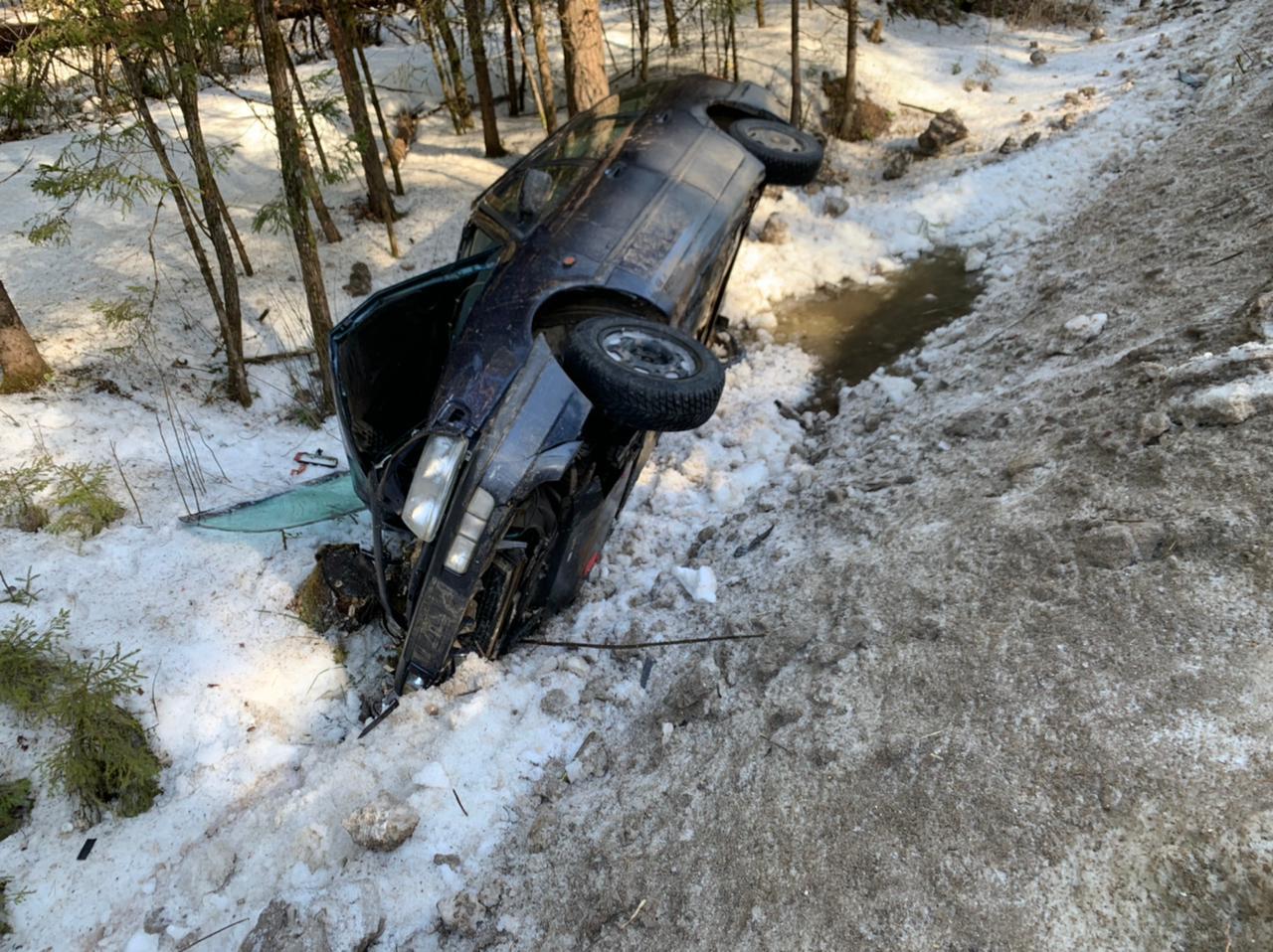 На автодороге Кимры-Клетино-Дубна водитель Фольксваген спровоцировал ДТП