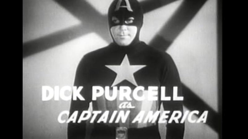 Капитан Америка 1944 сериал 1 серия