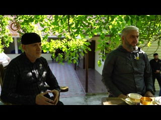 В горном Беное меня пригласил в гости дорогой БРАТ, Магомед Хамбиев