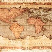 """Гобеленовое панно """"Карта"""" (110*140) Горизонтальное."""