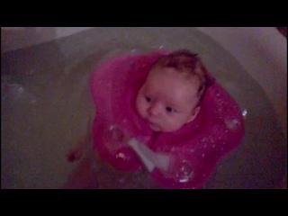 Гермес осваивает просторы ванны