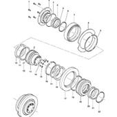 Ремкомплект на тормозной цилиндр