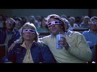 """Real 3D!! """"Bachelor Party"""" - Tom Hanks, Tawny Kitaen, Robert Prescott"""