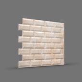МЕТРО 3D панель облицовочная Rakitta песочный мрамор