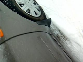 Массовый прокол колес у автомобилей в г.Михайловск...