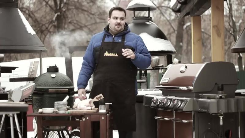 РЕЦЕПТ ░ Сочная курица «В ж*пе пиво» на опилках Jack Daniel's. Проще посмотреть...