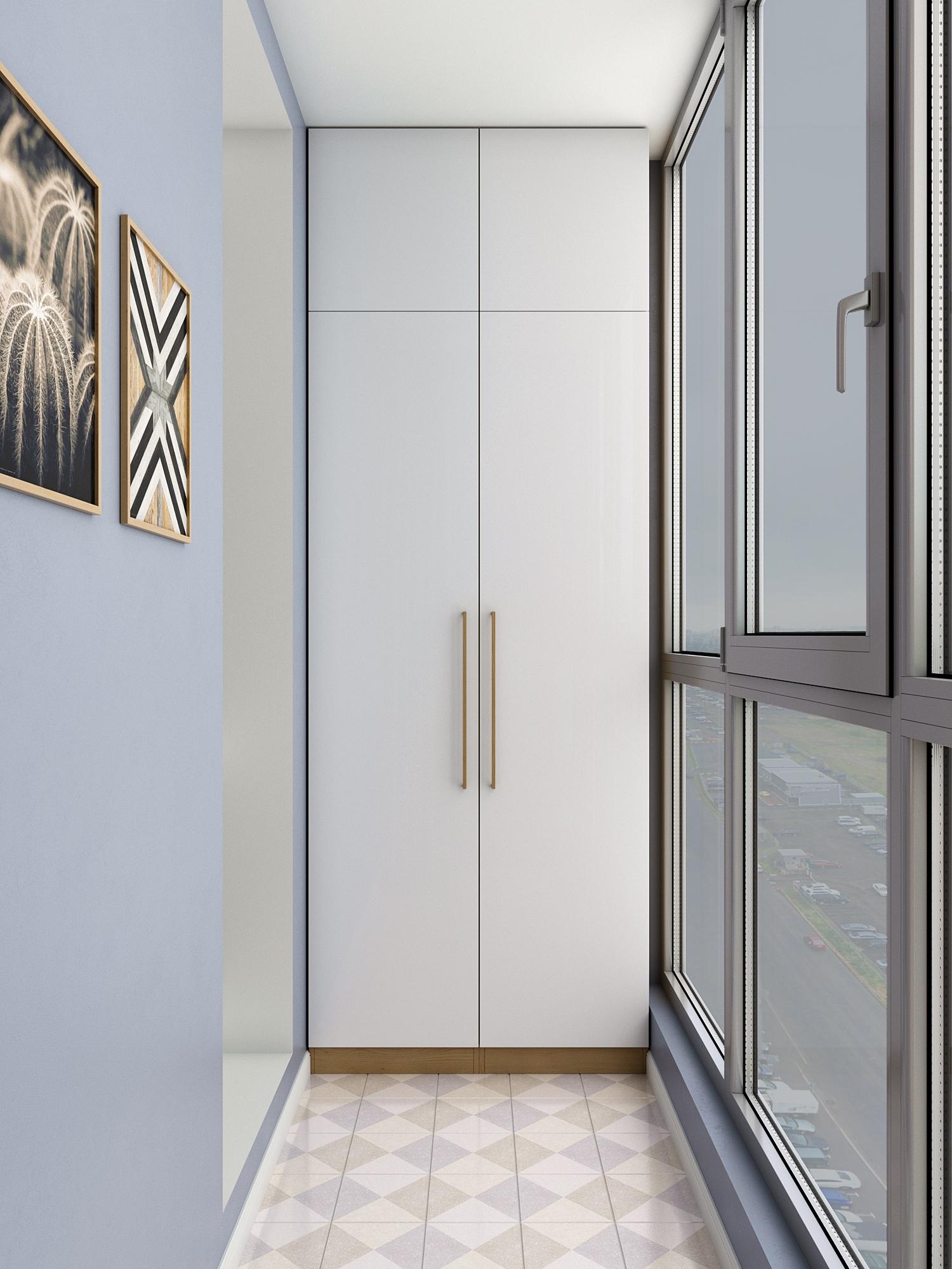 Проект квартиры-студии 33 м2 для девушки от CubiqStudio.