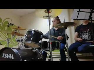 "Apocalyptica_""Broken pieces"" . Drum cover by Lera Novokshonova"