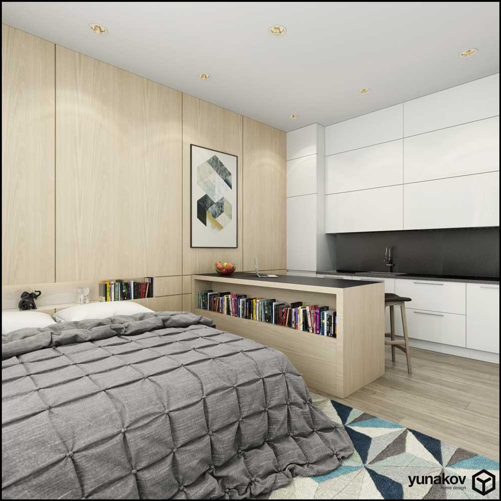 Концепт апартаментов 30 м.