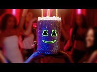 Marshmello - Light It Up ft. Tyga & Chris Brown [feat.и] I клип #vqmusic