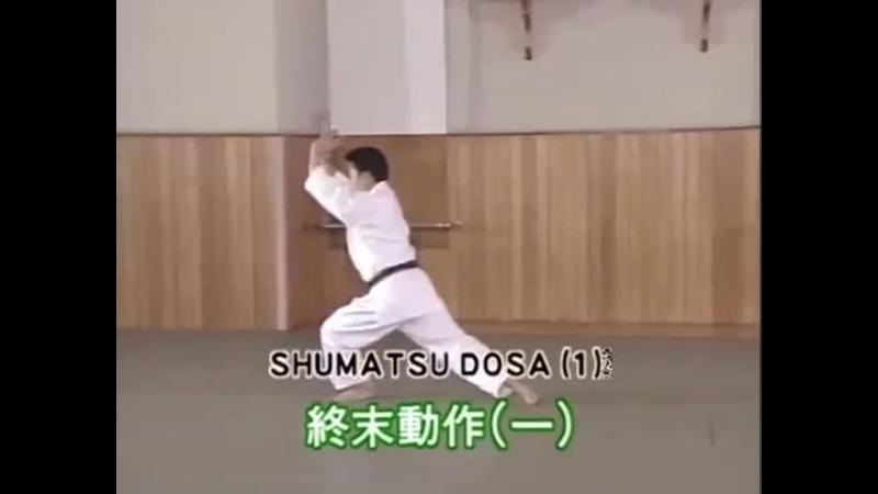 Кихон доса Шумацу Доса 1 Kihon dosa Shumatsu Dosa 1