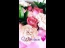 Сборный букет из роз и гвоздики