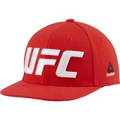 Снепбек Reebok UFC Logo Red