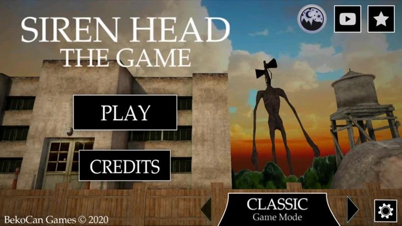 ИГРАЮ В СИРЕНОГОЛОВЫЙ игра Siren Head game