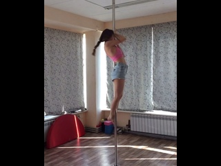 Pole dance динамика
