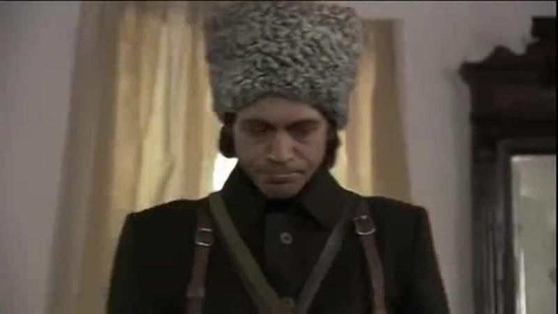 Эпизод из к ф Девять жизней Нестора Махно актер Павел Деревянко