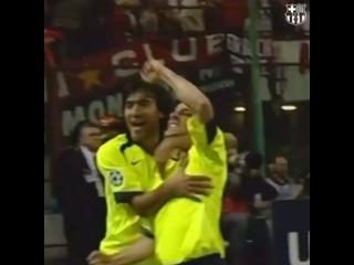 Роналдиньо выдаёт гениальный голевой пас с Миланом