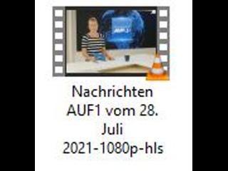 Nachrichten Auf1 Vom 28. Juli 2021..