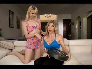 Chloe Cherry Cory Chase lesbian milf mom big tits ass all sex porn blonde лесби порно перевод субтитры 1080 HD sub rimjob mature