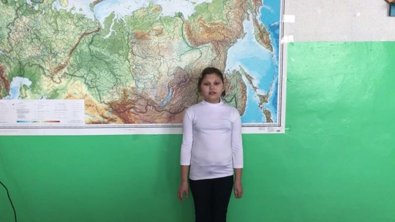 Старова Ольга ученица 5 класса МОУ СОШ п Кушумский Ершовского района Саратовской области