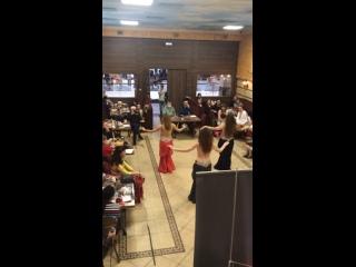 """Ресторан «Птичка Певчая». ТРЦ """"Columbus"""". На танцевальной вечеринке «Бал призраков». ."""