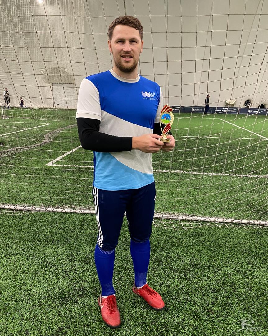 Дмитрий Хомяков (ОфСайт) - Лучший защитник и ассистент Вторая лига дивизион Клюкина