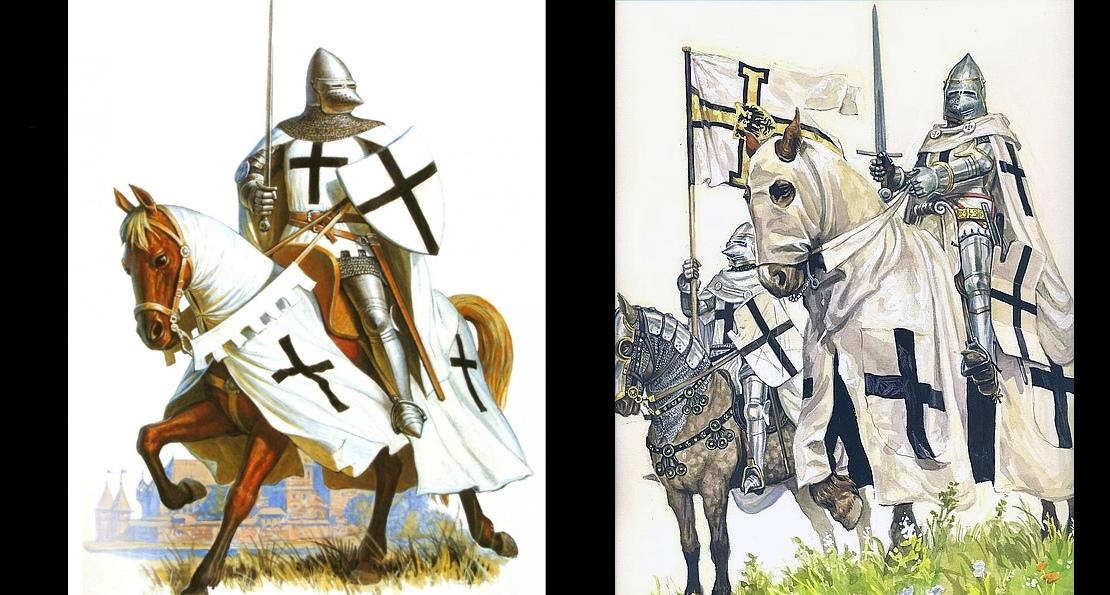 Рыцари в Прибалтике