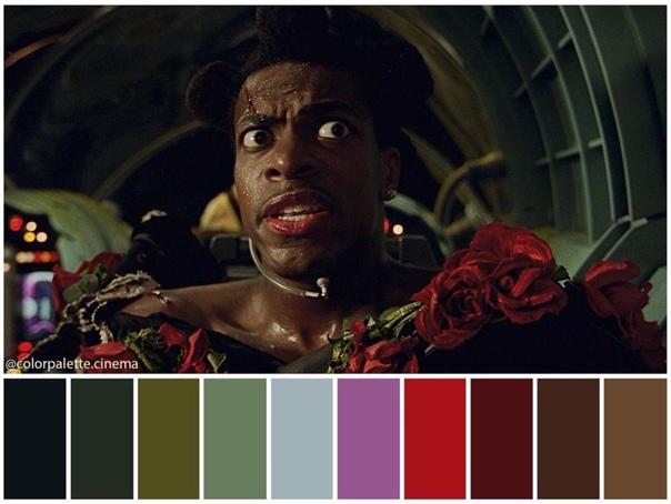 Цветовая гамма фантастического боевика «Пятый элемент»
