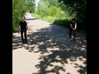 "Проект ""Тренируйся дома"". Триатлон. Видео 9"