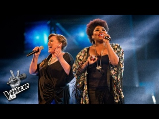 Leanne Mitchell & Ruth Brown - Shake It Out (The Voice UK 2012)